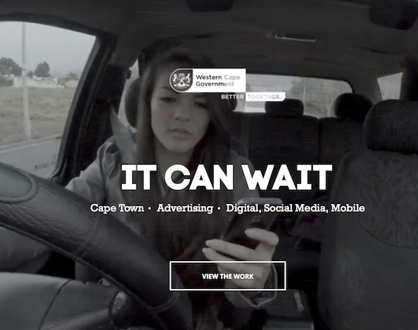 Social engagement: fun and fear collide as don't-text-and-drive message goes viral