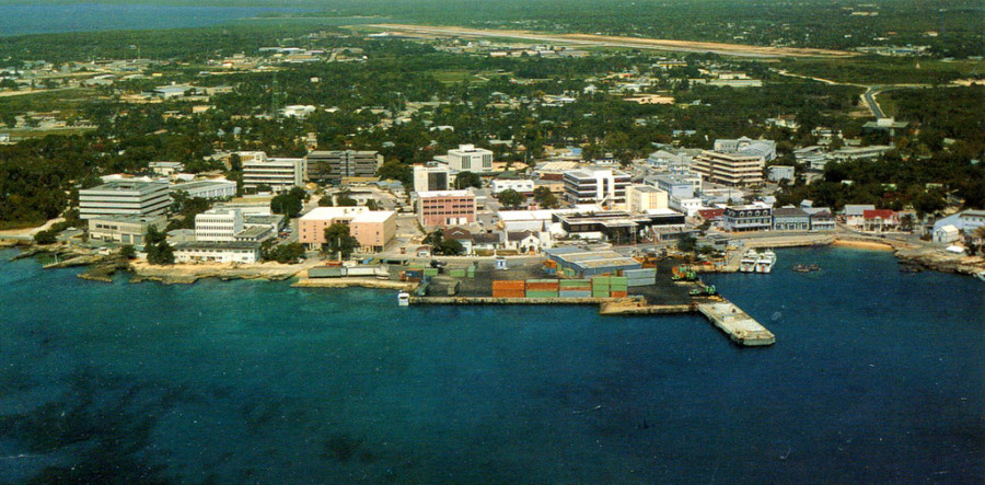Cayman Islands capital George Town offshore tax debate