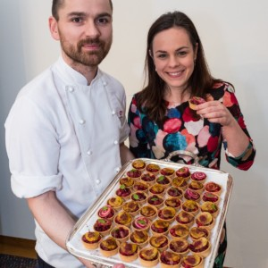 Gift_of_Grouse_Scottish_Parliament_117Chef Brian Grigor and MSP Kate Forbes