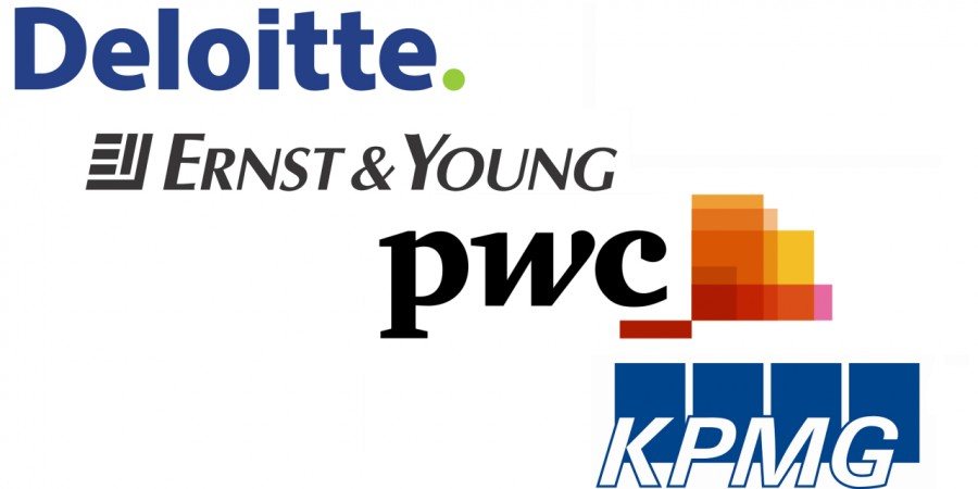 Deloitte, PwC, KPMG, Ernst & Young
