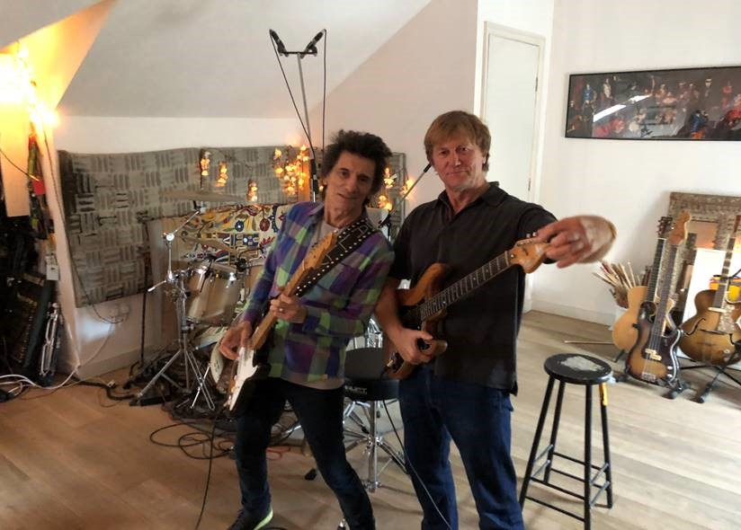 Ronnie Wood and Sir Christopher Evans One More Yard EP