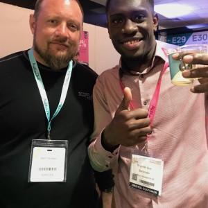 Matt Shirah Scofflaw with Javian Gran bartender
